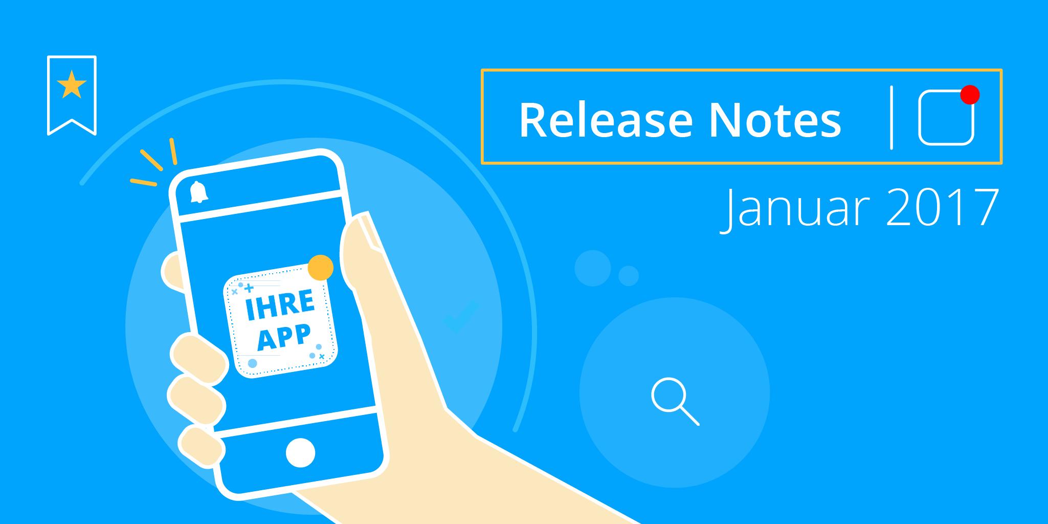 Staffbase Release Notes Januar 2017