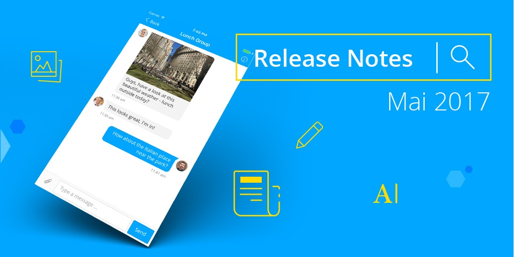 Staffbase Release Notes Mai 2017