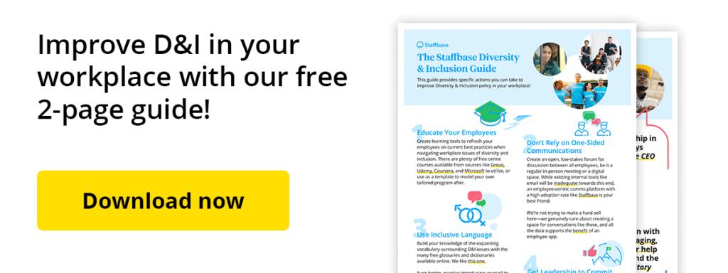 Staffbase D&i Guide Free Download